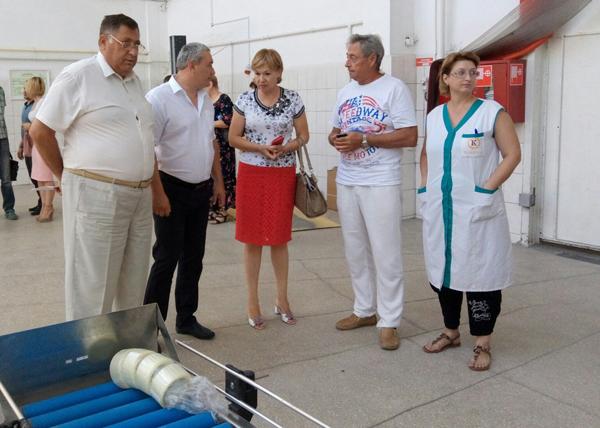 Олег Марченко встретился с трудовыми коллективами поселка Багерово