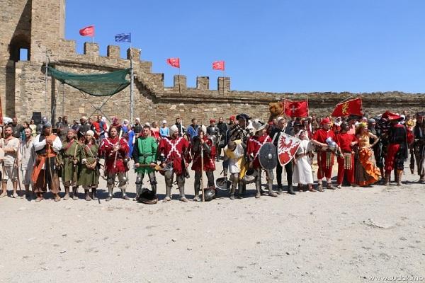 В Судаке состоялось торжественное открытие фестиваля «Генуэзский шлем»