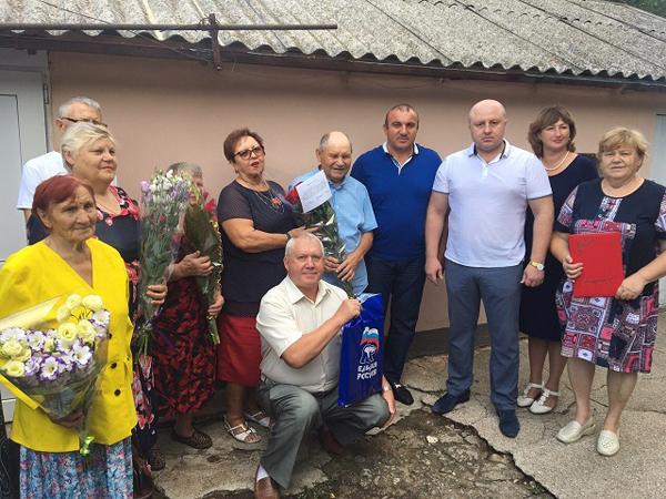 Жителю села Первомайское Симферопольского района исполнилось 95 лет