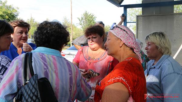 В Керченском поселке Капканы прошел сход граждан