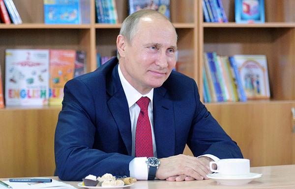 Путин 1 сентября проведет открытый урок в ярославской школе