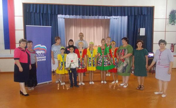 Дома культуры Джанкойского региона развиваются благодаря проекту «Единой России»