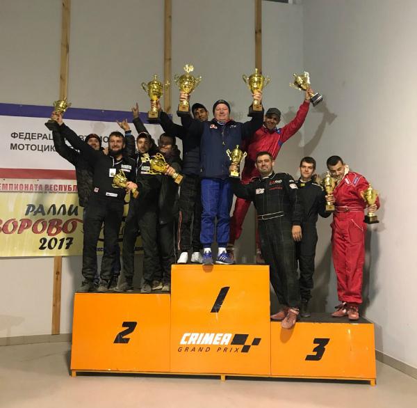 В Сакском районе состоялся II этап Чемпионата Республики по ралли