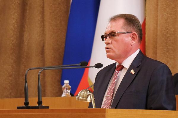 Председатель Комитета ГС РК по образованию, науке, молодежной политике и патриотическому воспитанию Александр Шувалов